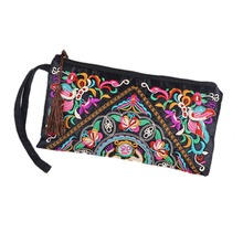 Women's Charming Boho Embroidered Purse