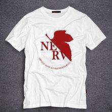 Anime EVA Neon Genesis Evangelion T Shirt for Men/women Short Sleeve Casual Anime T-shirt Top Tee S-5XL