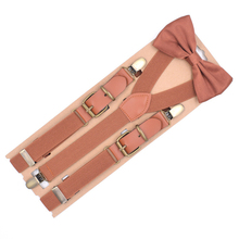 Kids Suspender Bowtie Sets Adjustable Suspender Braces With Bow Ties Gift Idea For Boys And Girls Y Back Shape 3 Clips