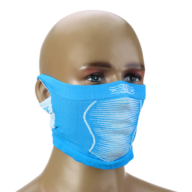 Windproof Mountain Bike Bicycle Full Neck Covered Anti-Cold Mask Winter Ski Cycling Half Face Neck Warmer Mask With Ear Hole