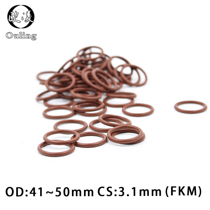 Viton Heat Resistant Brown O-rings  Size 042 Price for 2 pcs Adhesive Tapes