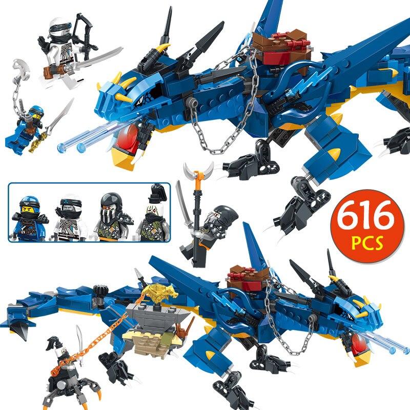 Technic Flying dragon Kompatibel Legoinglys ninjagoed Stormbringer Bausteine Ziegel Spielzeug 70652 Für Kinder