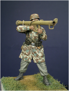 pre order-Resin toys 35020 German Para with PzSchreck Free shipping matrix 35020