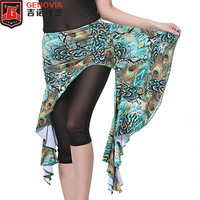 2018 Belly Dance Costume Peacock Hip Scarf Wrap Skirt Belt 6 Colours