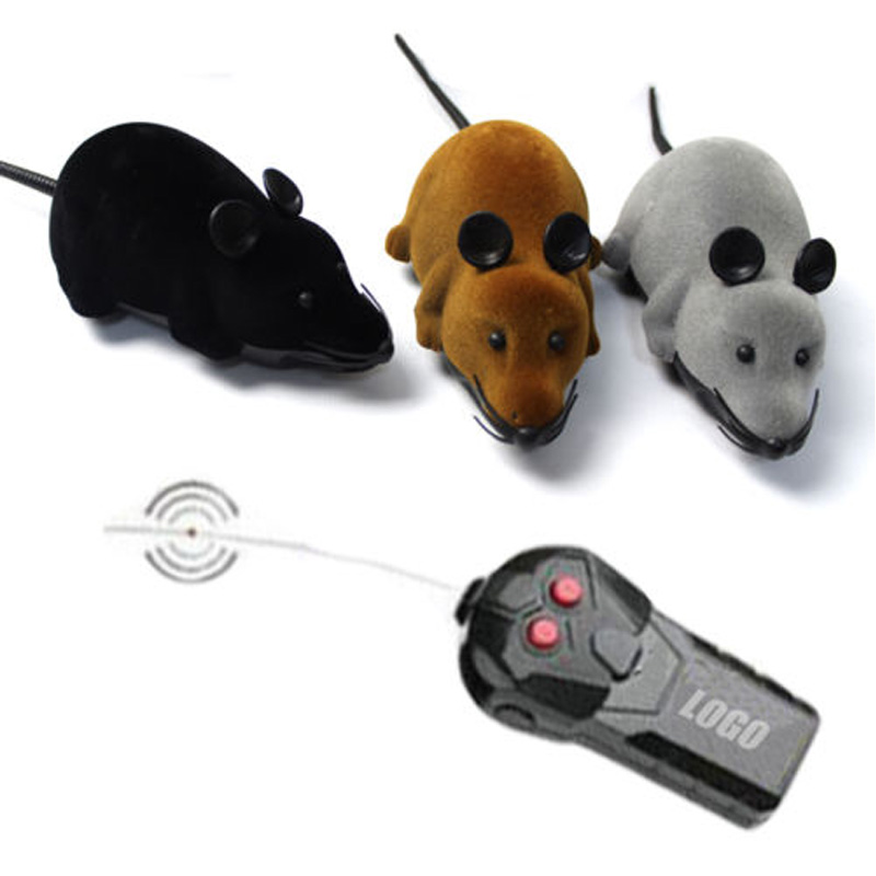 Katzen Wireless Remote Control RC Electronic Rat Mouse Mice Toy For Cat Puppy Gift