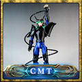 Novo Arrvial Excesso de Velocidade em alta velocidade modelo Saint Seiya Cloth Myth Andromeda Shun TV Version1 Capacete preto armadura De Metal dois corpo