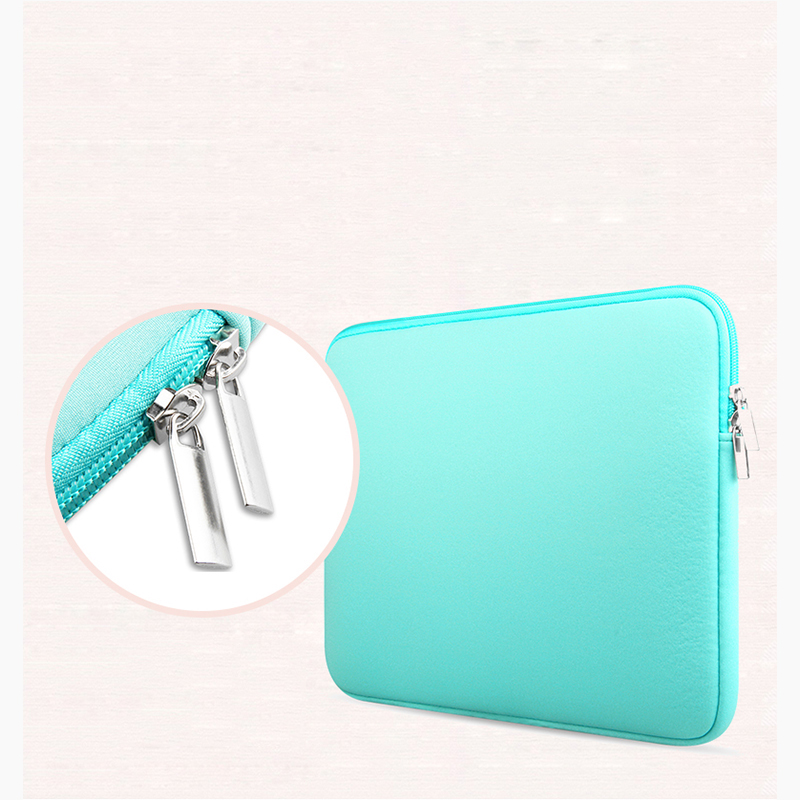 2016 Newest Soft Laptop Sleeve Bag Protective Zipper Notebook Case Computer Cover for 11 13 14 15 inch Macbook Air Pro Retina