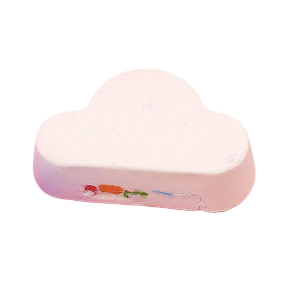 160 г Органические ванны соли бомбы набор радуга эфирные Уход за жирной кожей облако соль Отшелушивающий увлажняющий пузырь мяч для ванной Горячая