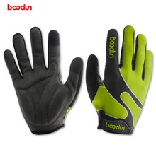 Boodun Bicycle Gloves Autumn Winter Full Finger Lycra Windproof Outdoor Sports Cycling Gloves Men Women Gloves Guantes Ciclismo цена
