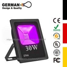10W/20W/30W/50W High Powe UV LED Light Flood , IP66 Waterproof, for Blacklight Party, Halloween, Body Paint, Neon Glow