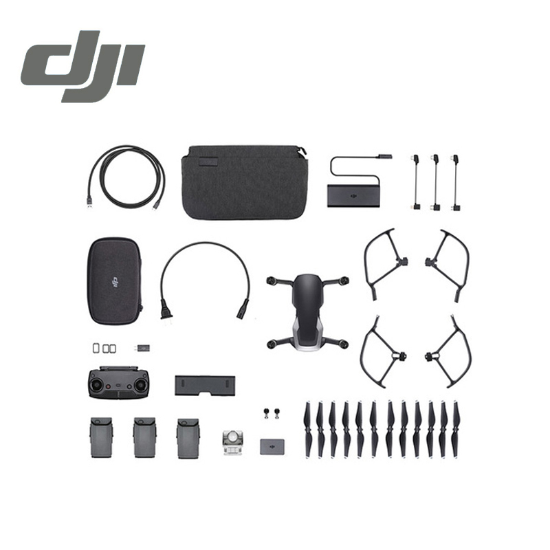 DJI Mavic Air Fly More Combo Drone 3 Axis Gimbal with 4K Camera 32MP Sphere Panoramas RC Helicopter Original