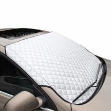 Car Windscreen Heat Insulation Folding Sunshade Snow Protection Cover 100 x 147cm with Advanced Water-resistant Design