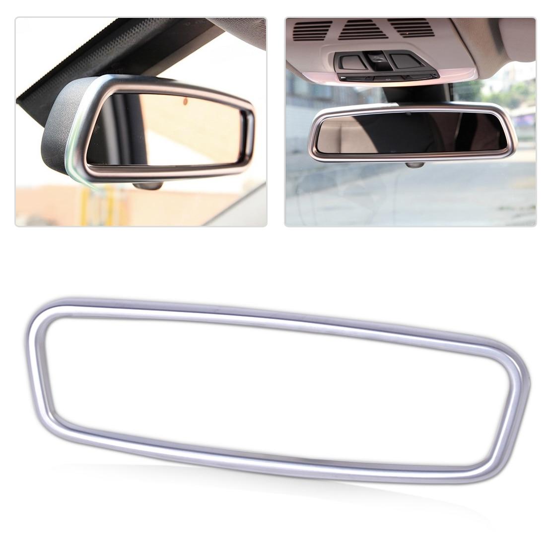 beler ABS Chrome Interior Rearview Mirror Frame Trim for Mercedes Benz A CLA GLA Class W176
