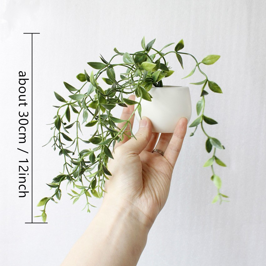Bonsoplant Fridge Magnets Potted Artificial Green succulent Bonsai plants HTB1sfrUhyMnBKNjSZFzq6A qVXah fridge magnets