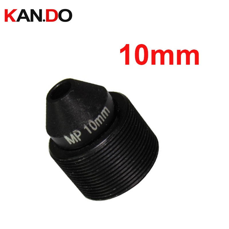 HD 2.0Megapixel 10mm Lens M12 Pin-hole Lens for CCTV Cameras, Mount M12*P0.5, F1.6 button lens camera