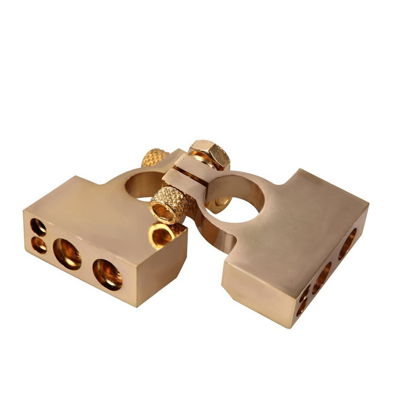 Image 5 - LUNDA Gold plated Car Battery Terminal Positive /negative  Car battery Connector Battery Caps Terminal Connector-in Car Batteries from Automobiles & Motorcycles