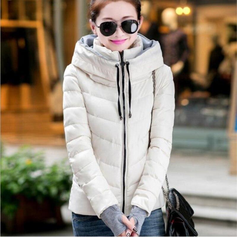 Cotton Black white Slim pink Thick Winter Thin Jacket Casual yellow Fashion Women red Clothing Short 2019 Coat New Women's Female qEUWZ