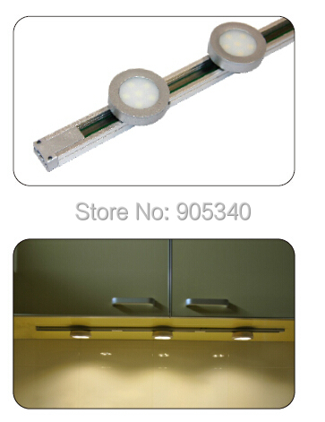 NEW Mini Track Light,led cabinet light,5050,500mm,12VDC,LED modules can be moved freely on track,for showcase,led wardrobe light