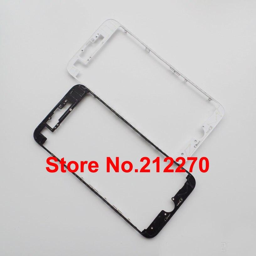 """imágenes para 50 unids/lote Nuevo LCD Frontal de Vivienda Bisel Marco Medio Con Pegamento Caliente Para el iphone 7 4.7 """"Comercio Al Por Mayor"""