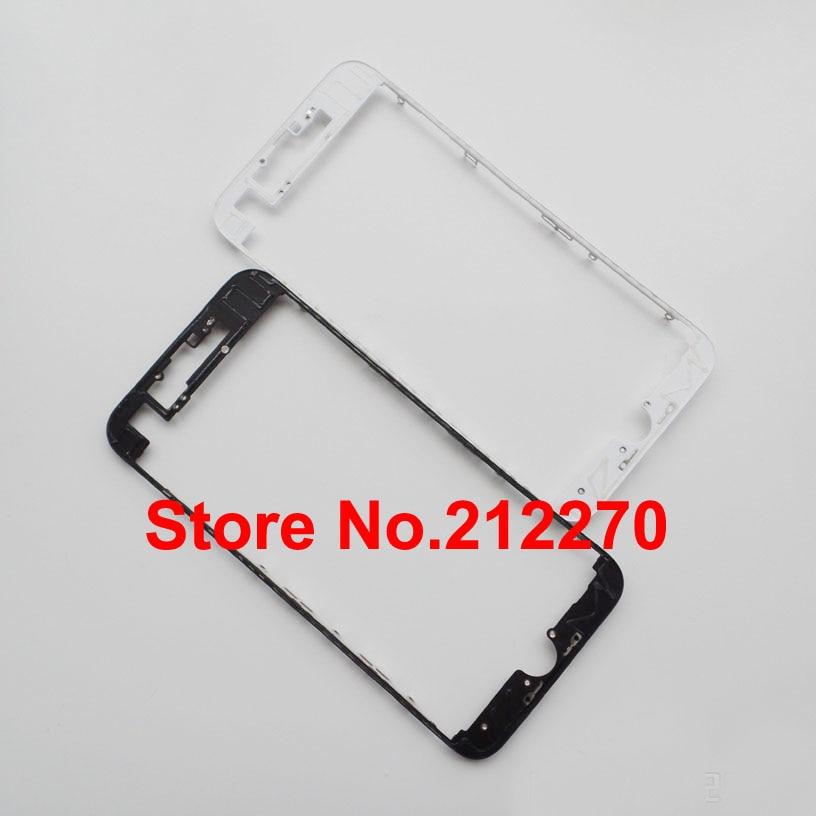 """Цена за 50 шт./лот новый передний ЖК Ближний рамка с горячим клеем корпус для iPhone 7 4.7 """"оптовая продажа"""