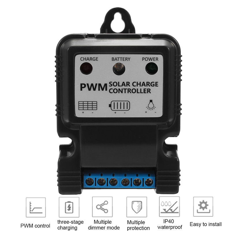 11.1V 5A PWM Solar Power Controller Intelligent Multiple Protection Controller System Charge Home11.1V 5A PWM Solar Power Controller Intelligent Multiple Protection Controller System Charge Home