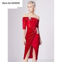 Оригинальный Zipipiyf пати Elbise 2019 пикантные Для женщин Ruched кисточкой элегантное платье с вырезом лодочкой вечерние нерегулярные платье Vestido Ab252