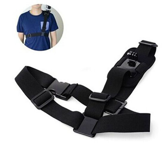 Shoulder Strap Mount Chest Harness Adapter For Gopro Accessories to Go Pro hero 6 4 5 Hero3 2 3 Black Edition Xiaomi Yi