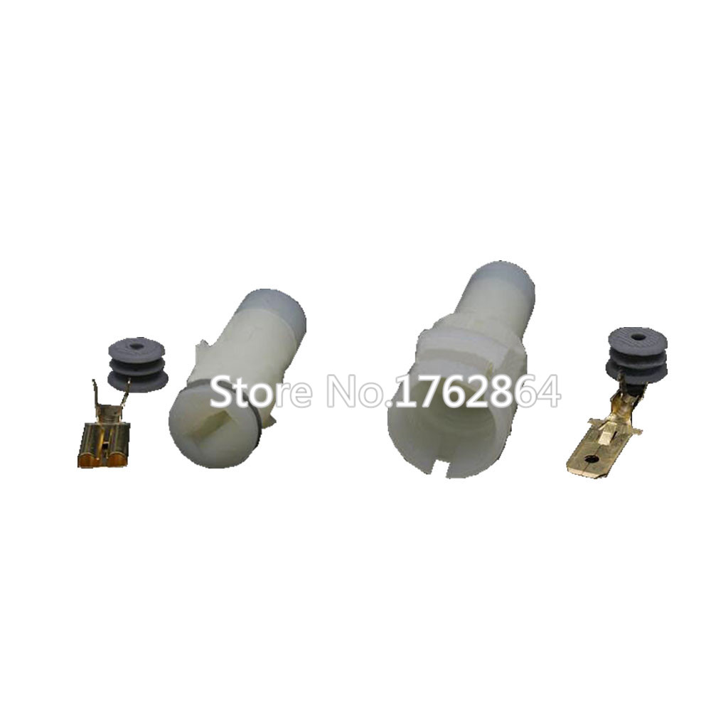 1 Pin Waterproof Automotive Connector HID High Current Plug With terminal DJ7014-7.8-11 / 21 1P