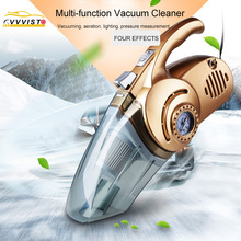 2018 120W VVVIST Car Vacuum Cleaner Handheld Wheel Pumping 12V Powerful Auto Cleaning Tools