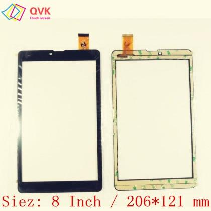 Black 8 Inch For Irbis TZ877 TZ855 TZ854 TZ892 TZ884 TZ885 TZ874 Capacitive Touch Screen Panel Repair