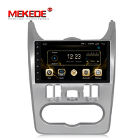 9inch 2din HD1080 MEKEDE best android system car radio player for Renault Duster/Logan/Sandero support 4g sim WIFI bluetooth FM