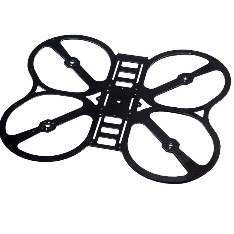 H250 Fpv Carbon Fiber Glass Fiber Qav250 Q4 Quadcopter With