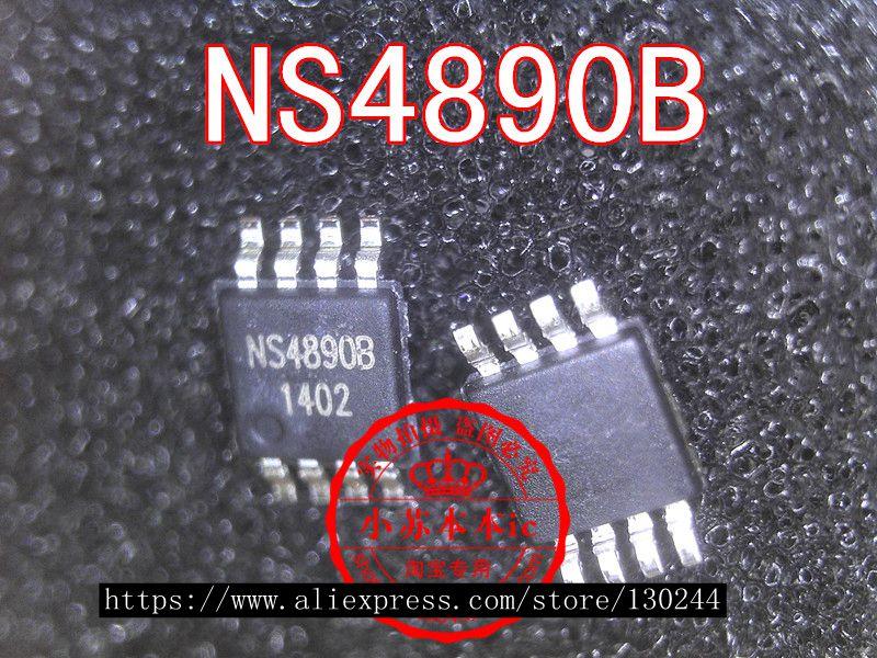 1pcs/lot NS4890B 4890B MSOP8 In Stock