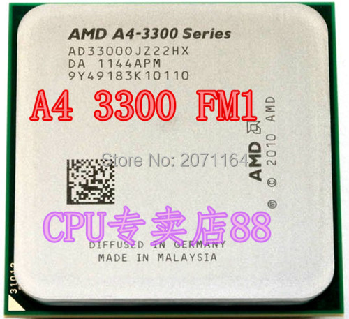 The new no box packaging for A4 3400 2.7G FM1 processor integrated graphics desktop CPU