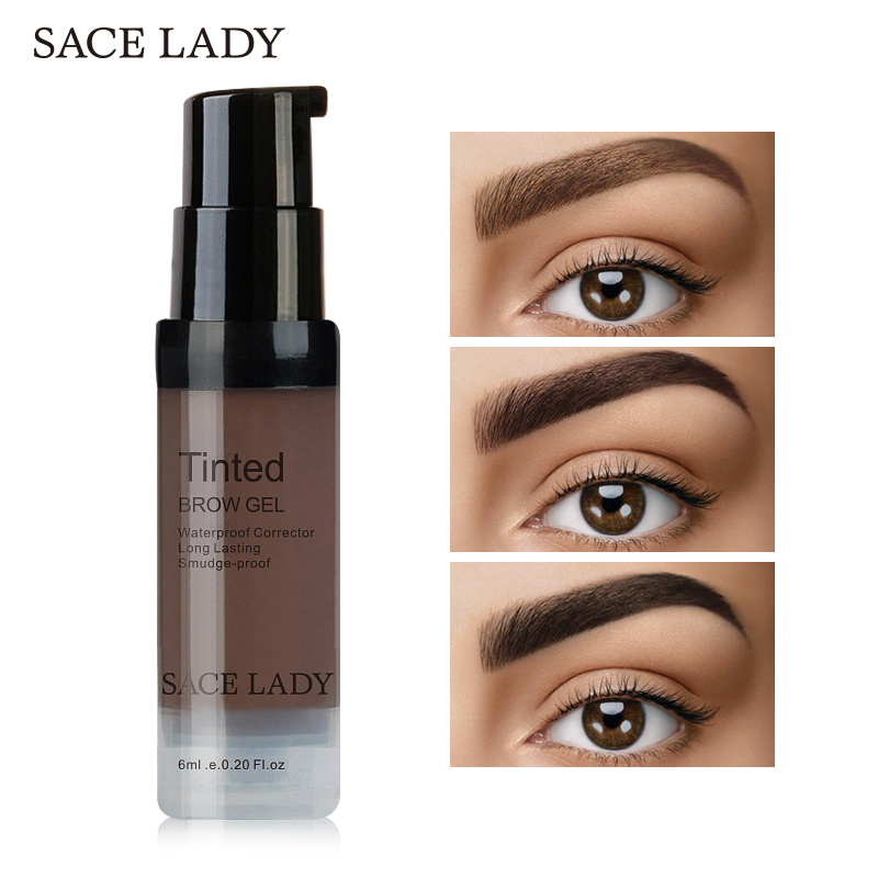 Sace Lady Henna Eyebrow Dye Gel Waterproof Makeup