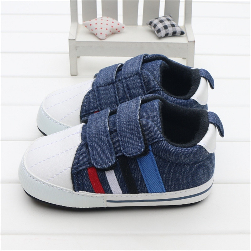 Nuevos Zapatos Del Bebé Buena Calidad Gris Dos Correa Nuevo nacido Bebé Niña Niño Primeros Caminante Por 0-18 Meses Sapatinho Menino