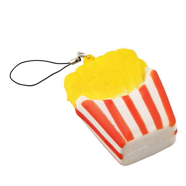 French Fries Phone Strap