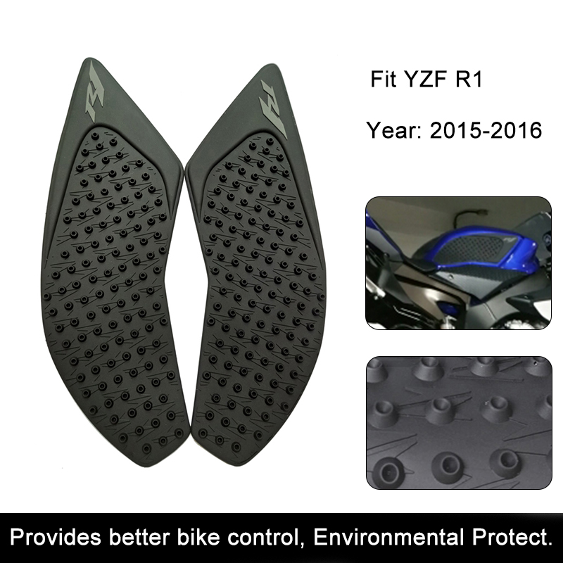 For Yamaha YZF-R1 2015 2016 R1 Motorcycle Anti slip Tank Pad 3M Side Gas Knee Grip Traction Pads Protector Stickers