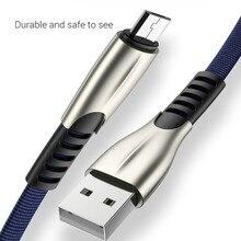 Cavo Micro USB Android, micro USB a USB 2.0 Cavo di Nylon Intrecciato Cavo di Sincronizzazione e Ricarica Veloce per Samsung, Kindle, Android Smart