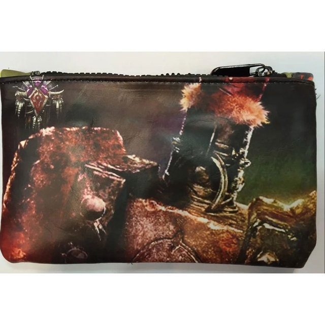Кошелек кожаный World Of Warcraft 1