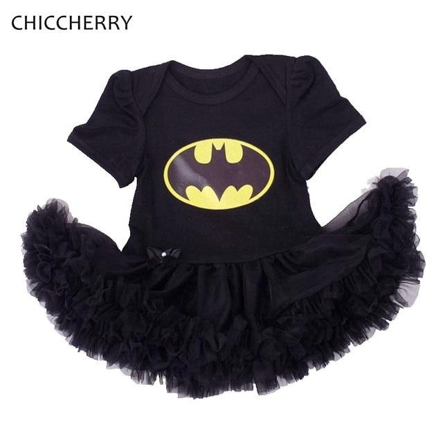 cute batman black lace tutu baby girl dress vestido bebe kids halloween costumes for girls halloween