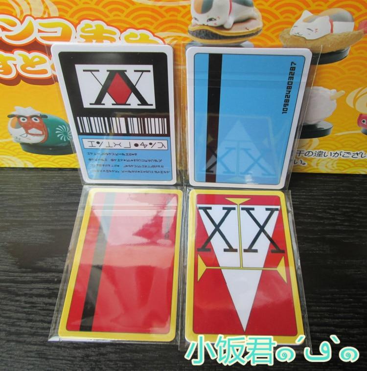 Hunter x Hunter License Card GING FREECSS Japan Anime(paper stcker or PVC)