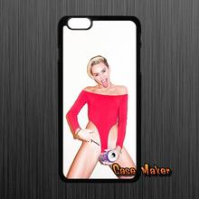 For HTC One X S M7 M8 Mini M9 A9 Plus Desire 816 820 Blackberry Z10 Q10 Sexy Girl Miley Cyrus Pattern TPU Hard Case Cover