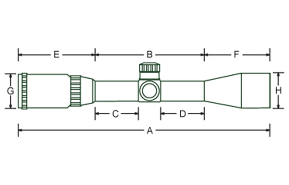 paralaxe torres de bloqueio redefinir riflescopes tático
