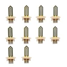 10個交換セラミックヒーターためiqos 2.4プラス加熱スティックiqosためのeタバコの修理アクセサリー