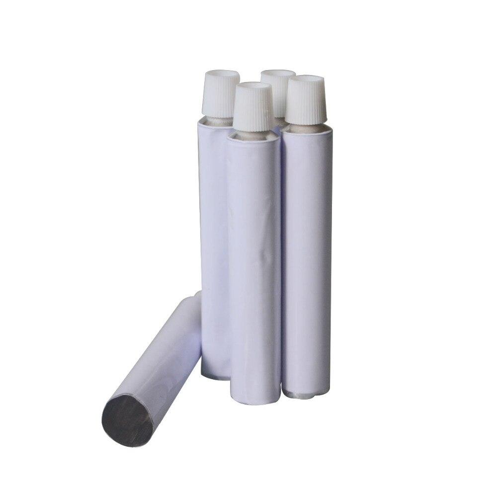 10pcs Aluminum Empty Toothpaste Tubes w/ Needle Cap Unsealed 10ml 20ml 30ml 50ml 100ml10pcs Aluminum Empty Toothpaste Tubes w/ Needle Cap Unsealed 10ml 20ml 30ml 50ml 100ml