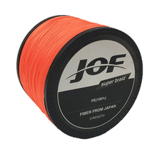 JOF Brand 1000m 4 Strands 4LB – 150LB Braided Fishing Line PE Strong Multifilament Fishing Line Carp Fishing Saltwater