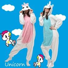 Polar fleece unisex adulta anime unicorn cosplay fancy dress payjamas pijama party onesies ropa de noche de una sola pieza