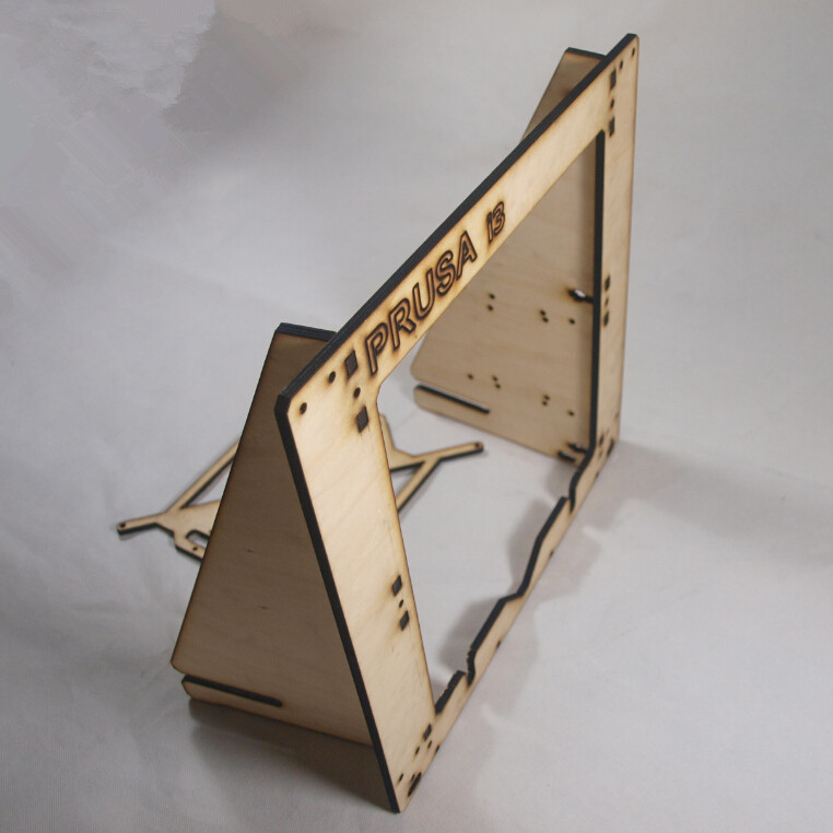 3 D printer parts reprap mendel prusa I3 laser cut frame wooden in 6mm plywood free shipping
