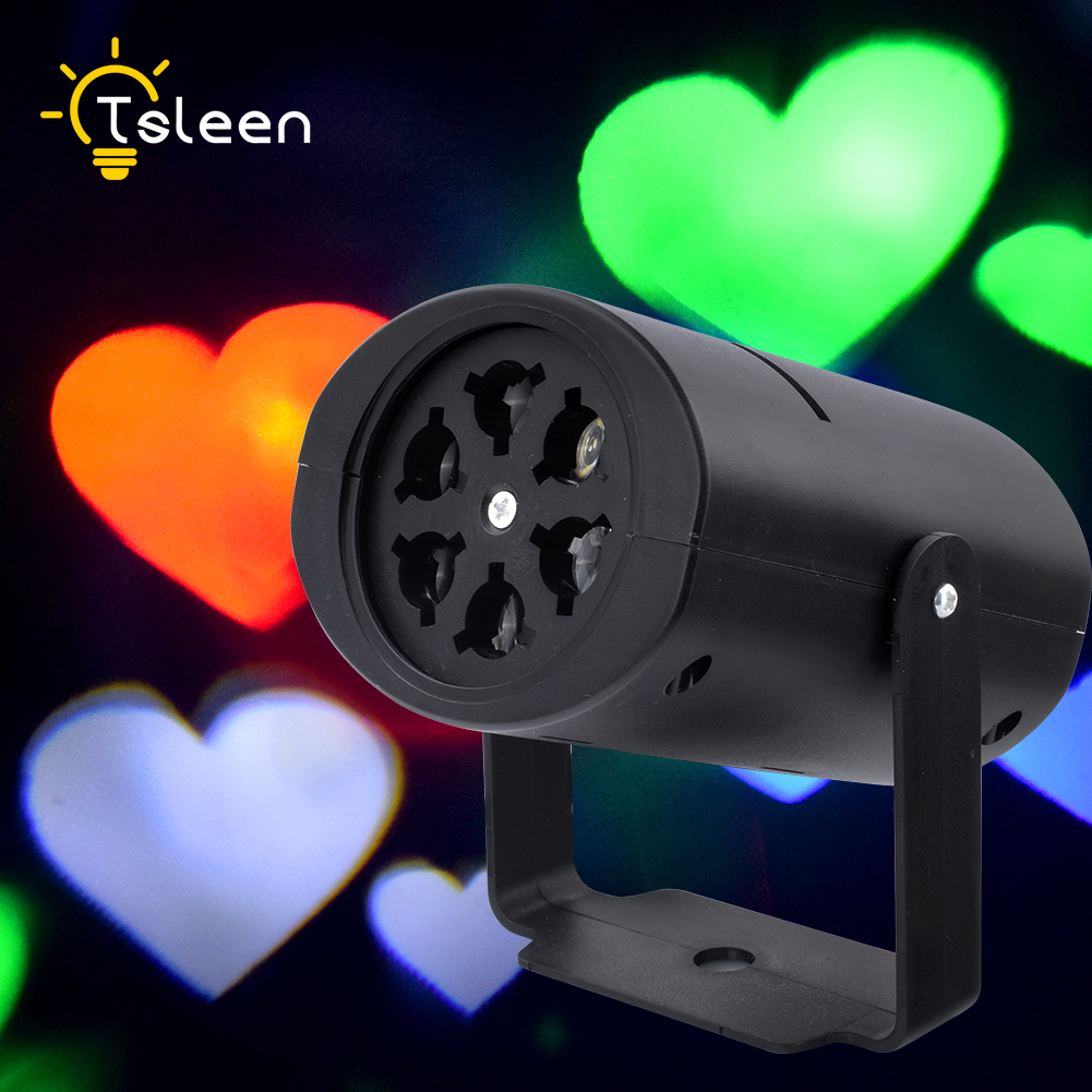 TALEEN Led Stage Light led laser stage chrismas party lamp auto rotating projector decor ...